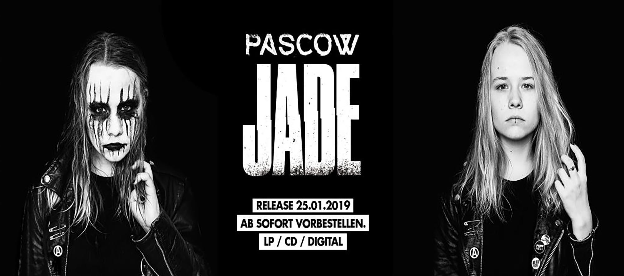 NEUES ALBUM: PASCOW – JADE